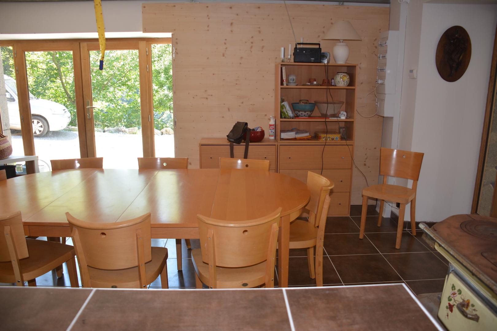 La salle à manger 10 couverts