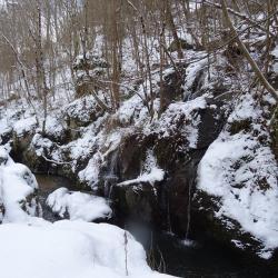 Le Grozon au niveau de la petite cascade