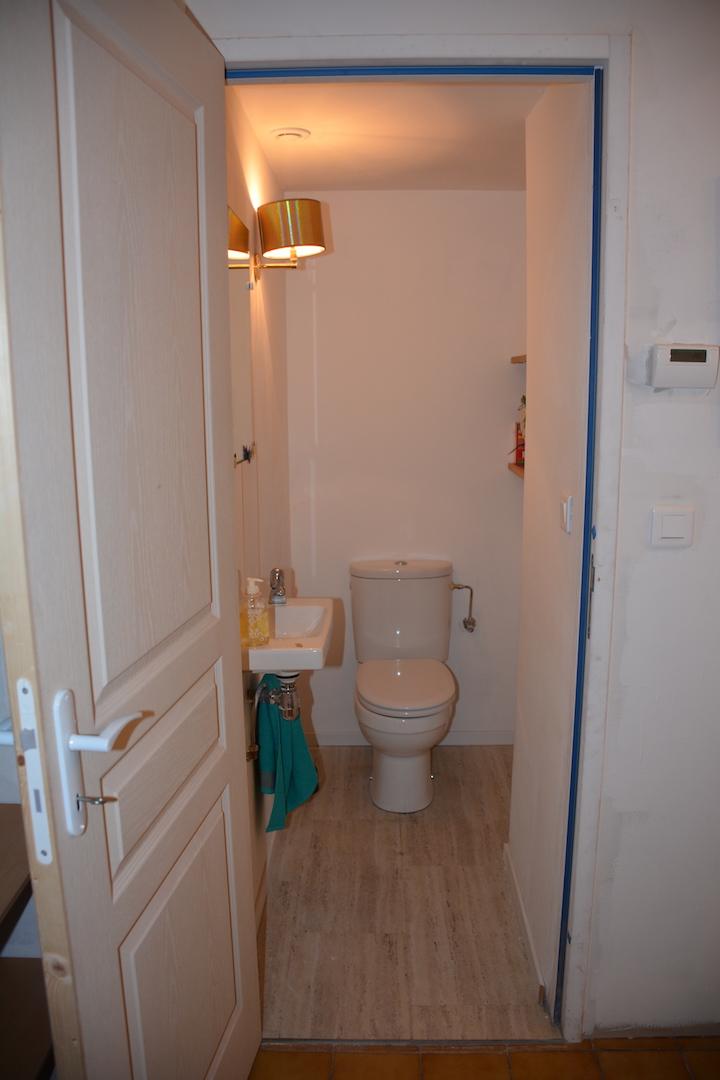 Les toilettes du premier étage