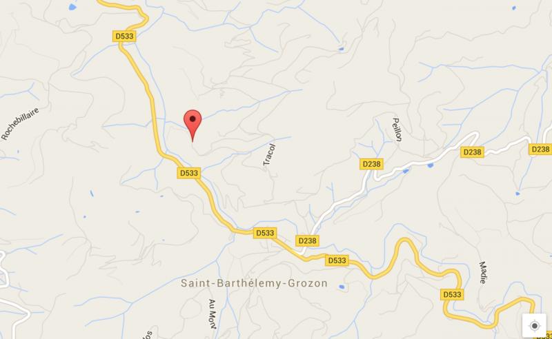 Google maps saint barthe le my grozon